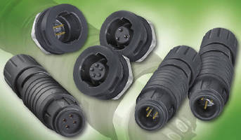 Micro Push-Pull Connectors have IP67 rating.