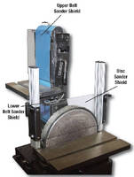 Belt Sander and Disc Sander Shields