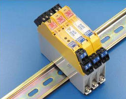Zener Diode Barriers include features for hazardous areas.