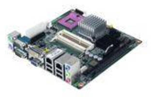 Mini-ITX Motherboard has industrial-grade design.