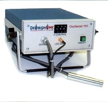 Oxygen Analyzer measures oxygen in sealed packages.