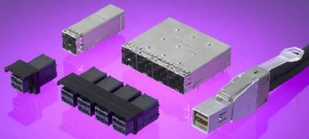 External I/O Connector meets Next-Gen SAS 2.1 requirements.