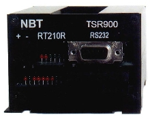 Modem and RTU form spread sprectrum transceiver.