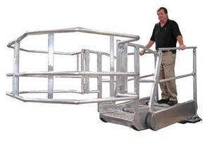 Safety Stairs facilitate loading/unloading processes.