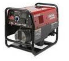 Portable AC Welder/Generator provides up to 140 A output.