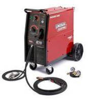 MIG/Flux-Cored Welder offers heavy-duty wire drive.