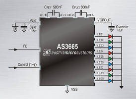 LED Driver enables lighting effects in portable applications.
