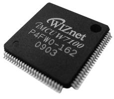 """Saelig Introduces W7100 - New Embedded-Internet 8051 MCU Hard-Wired TCP/IP for Stability, """"Instant-on"""""""