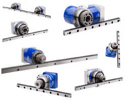 Racks and Pinion Systems offer options for flexibility.
