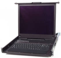 Industrial Grade LCD Keyboard Drawers feature rugged design.