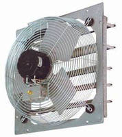 Direct Drive Wall Fans are offered in 3 configurations.