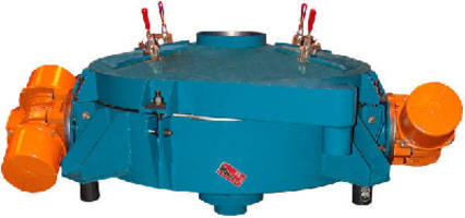 Compact Circular Separator works with difficult materials.
