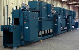 Electric 500°F Oven incorporates 3-zone belt conveyor.