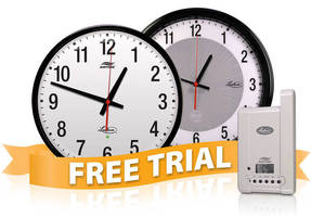 Lathem Offers 30 Day Free Trial of New AirTime® Wall Clock System