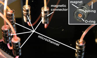 NIST Researcher develops reusable microfluidic connector.