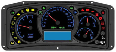 Centralized UI enables efficient industrial vehicle control.
