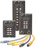 Modular I/O System collects analog/digital signals at source.