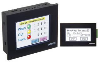 Touchscreen HMIs target lean automation initiatives.