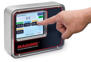 Touchscreen Blender Control allows rapid response to product runs.