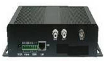 Network Video Server provides remote monitoring via web.