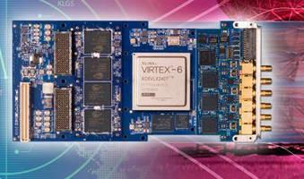 Data Converter employs Xilinx Virtex-6 FPGA.