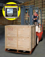 Fork Lift Scale incorporates data collection functions.