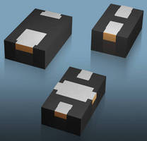 Switch and Attenuator Diodes come in plastic SMT packages.