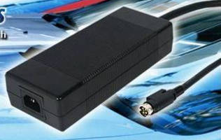 Enclosed 218 W Battery Charger offers programmable output.
