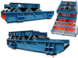 Vibrating Screens handle 580-1,800 metric tons/hr.