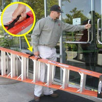Ladder Handle promotes safe and comfortable carrying.