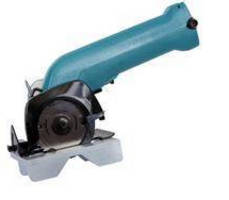 Cordless Power Slitter cuts utility innerduct conduit.
