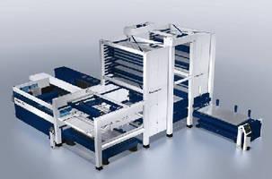 Laser Cutting Machine optimizes material handling.