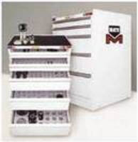 Turret Tooling Storage Cabinets facilitate accelerated setup.