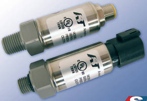 Pressure Sensor/Transducer is offered with 2 connector types.