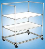 Tubular Framing System improves lean factory efficiency.