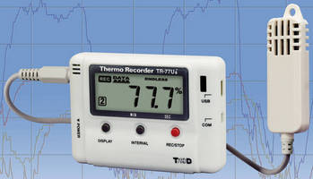 Temperature/Humidity Logger has built-in adjustment function.