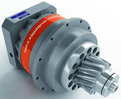 Dual-Pinion Drive suits precision rack and pinion applications.