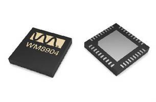 Audio CODEC features ultra-low power design.