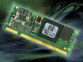 DIMM Module runs Windows CE and Linux.