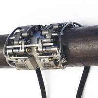 Inspection System checks circumferential welds in pipes.