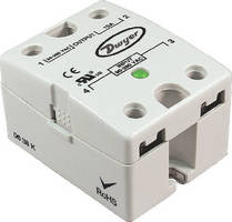 Solid State Relay is rated from 24-280 Vac.