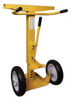 Trailer Stand aids loading dock safety.