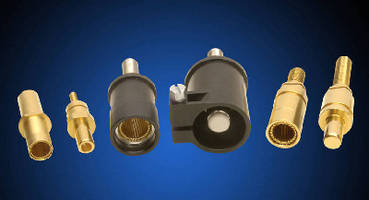 High Power Connectors and Contacts withstand harsh environments.