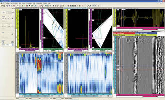 Ultrasonic Testing DAQ Software includes data analysis features.