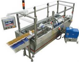 Carton Closing Machine operates at 150 cartons/min.