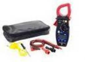 Clamp Multimeter tests starting/charging circuits.