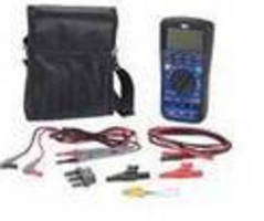 Hybrid Multimeter includes insulation test feature.