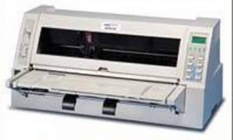 Serial Dot Matrix Printer prints difficult multi-part forms.