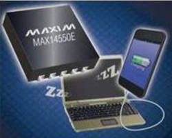 Analog Switch integrates USB host-charger ID circuit.