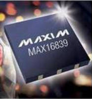 LED Driver integrates fault output, multichip interoperability.